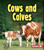 Cows And Calves (First Step Nonfiction Animal Families)