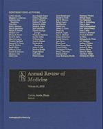 Annual Review of Medicine V 63