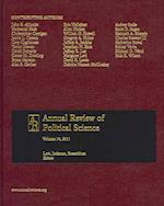 Annual Review of Political Science; V.14, 2011