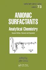 Anionic Surfactants (Surfactant Science, nr. 73)