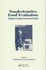 Nondestructive Food Evaluation (Chromatographic Science Hardcover, nr. 105)