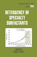 Detergency of Specialty Surfactants (Signal Processing and Communications, nr. 98)