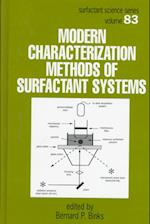 Modern Characterization Methods of Surfactant Systems (Surfactant Science, nr. 83)