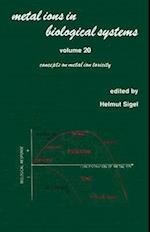 Metal Ions in Biological Systems (METAL IONS IN BIOLOGICAL SYSTEMS, nr. 20)