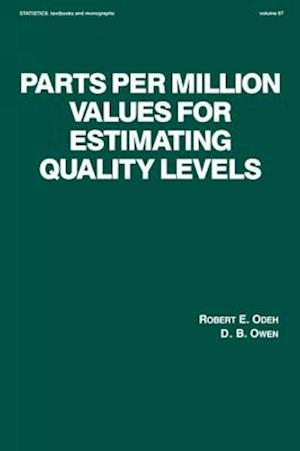 Parts Per Million Values for Estimating Quality Levels