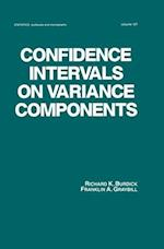 Confidence Intervals on Variance Components (STATISTICS, A SERIES OF TEXTBOOKS AND MONOGRAPHS, nr. 127)