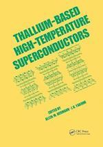 Thallium-Based High-Tempature Superconductors