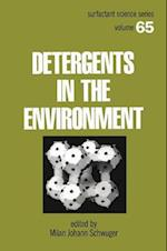 Detergents and the Environment (Control Engineering, nr. 65)