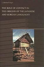 The Role of Contact in the Origins of the Japanese and Korean Languages af J. Marshall Unger