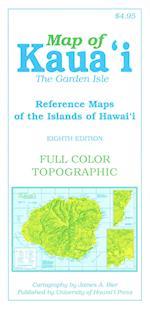 Map of Kauai the Garden Isle