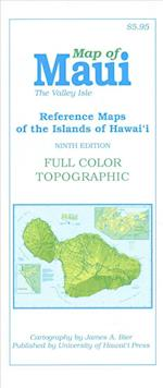 Map of Maui (Reference Maps of the Islands of Hawai'I)