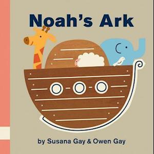 Bog, hardback Noah's Ark af Susana Gay