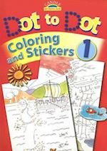 Dot to Dot Coloring and Stickers [With Stickers] (Candle Activity Fun)