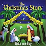 The Christmas Story [With Eight Character Pieces with a Storage Box] (Candle Read and Play)