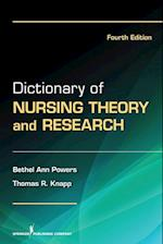 Dictionary of Nursing Theory and Research af Thomas Knapp, Bethel Ann Powers