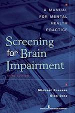 Screening for Brain Impairment af Michael D. Franzen, Glen E. Getz