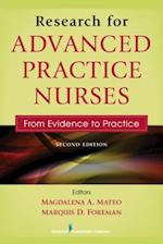 Research for Advanced Practice Nurses