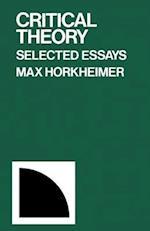 Critical Theory af Max Horkheimer