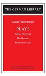 Hauptmann Plays af Gerhart Hauptmann