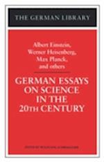 German Essays on Science af Einstein