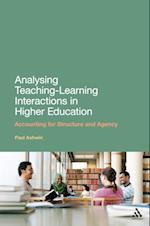 Analysing Teaching-Learning Interactions in Higher Education af Paul Ashwin