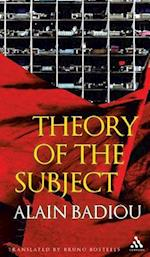 Theory of the Subject af Alain Badiou