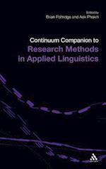 Continuum Companion to Research Methods in Applied Linguistics af Brian Paltridge