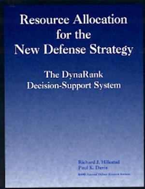 Bog, paperback Resource Allocation for the New Defense Strategy af Paul K Davis