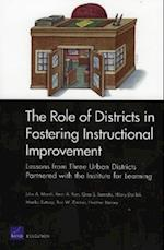 The Role of Districts in Fostering Instructional Improvement