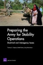 Preparing the Army for Stability Operations af Thomas S. Szayna