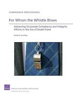 For Whom the Whistle Blows (Conference Proceedings)