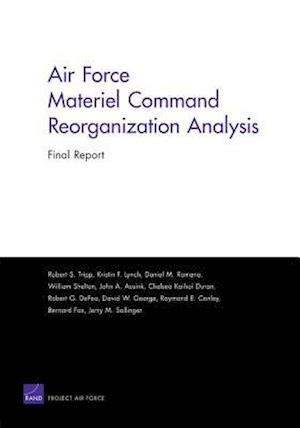 Air Force Materiel Command Reorganization Analysis