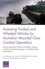 Assessing Tracked and Wheeled Vehicles for Australian Mounted Close Combat Operations