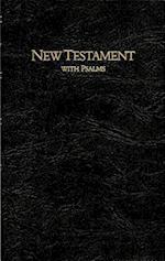 Keystone Large Print New Testament with Psalms-KJV