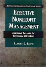 Effective Nonprofit Management (Aspen's Nonprofit Management Series)