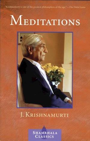 Meditations af Jiddu Krishnamurti