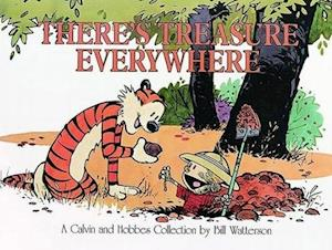 Bog paperback There's Treasure Everywhere af Bill Watterson