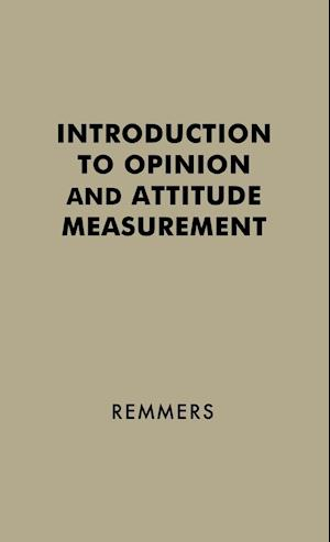 Introduction to Opinion and Attitude Measurement