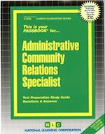 Administrative Community Relations Specialist