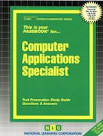Computer Applications Specialist (Career Examination Series)