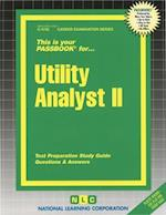 Utility Analyst II
