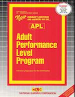 Adult Performance Level Program (APL) (Passbooks)