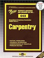 Carpentry (Occupational Competency Examination Passbooks, nr. 10)