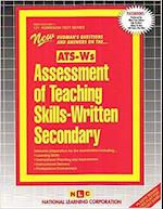 Assessment of Teaching Skills-Written (Secondary) (Ats-Ws)