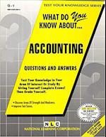 Accounting (Test Your Knowledge, nr. 1)