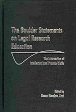 The Boulder Statements on Legal Research Education