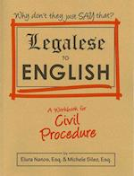 Legalese to English