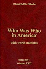 Who Was Who in America Volume 22 (WHO WAS WHO IN AMERICA)