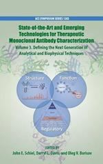 State-of-the-Art and Emerging Technologies for Therapeutic Monoclonal Antibody Characterization Volume 3. (ACS SYMPOSIUM SERIES)