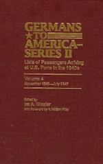 Germans to America (Series II), November 1846-July 1847 (GERMANS TO AMERICA, nr. 4)